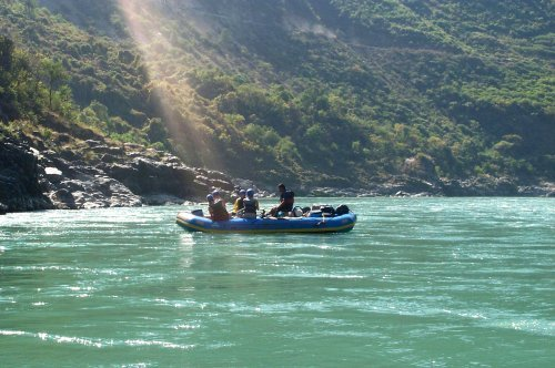 2003-01-01: Rafting on the Ganges