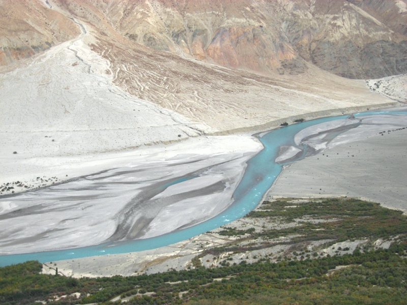 2008-09-17: Shyok river - Nubra Valley