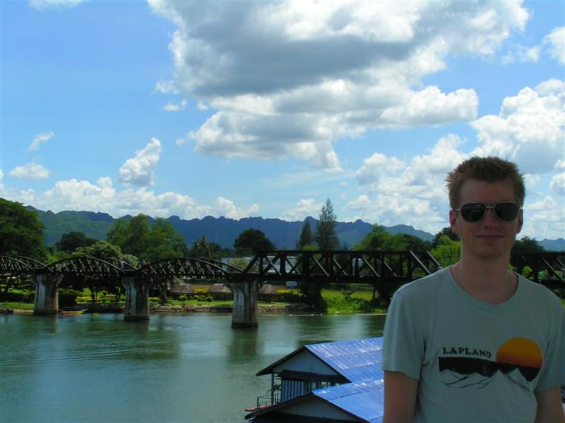2007-06-10: Bridge over River Kwai, Thailand